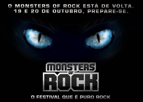 Monsters of Rock está de volta