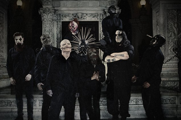 Slipknot the gray chapter masks