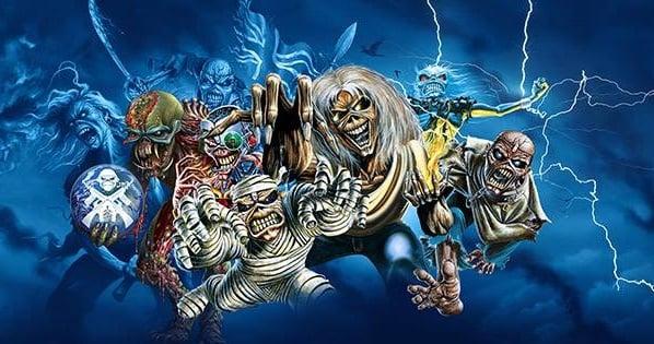 Promoção Sensacional do Iron Maiden