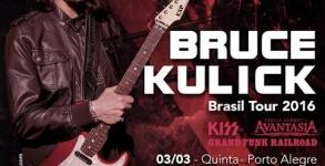 Bruce Kulick Brasil 2016