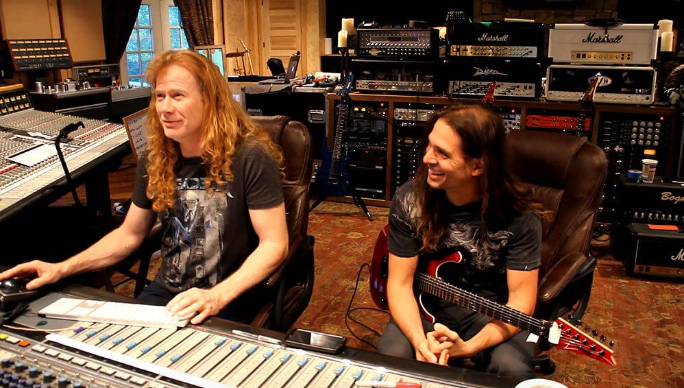 Kiko Loureiro e Dave Mustaine