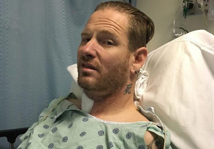 Corey Taylor Cirurgia