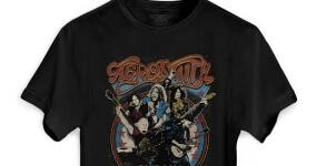 Aerosmith camiseta