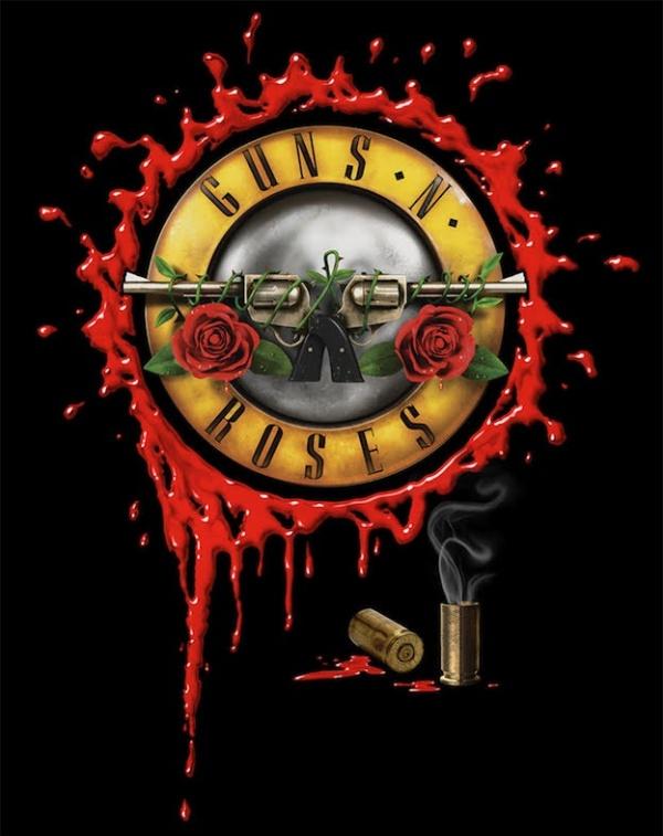 guns and roses brasil