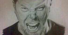 James Hetfield Fan Art