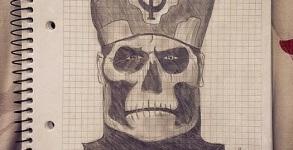 Papa Emeritus Fan Art