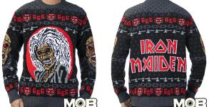 iron maiden sweater