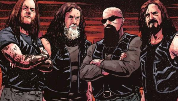 Resultado de imagem para Slayer lançará 1ª edição de livro em quadrinhos no final do mês