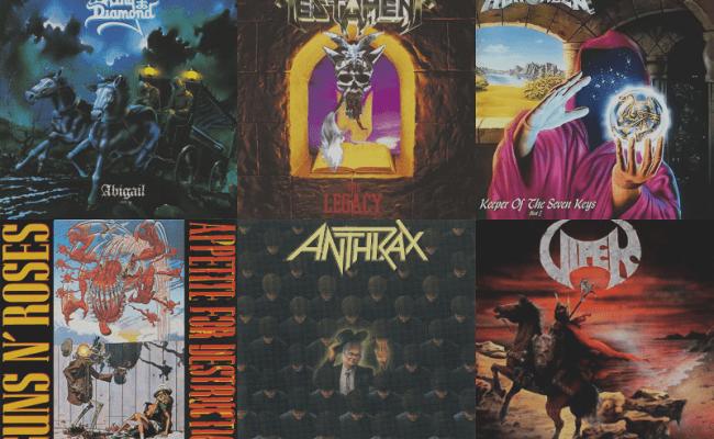 Qual é o melhor álbum que faz 30 anos em 2017?