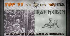 Top 11 Subestimadas do Iron Maiden