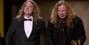 Dave Mustaine Grammy 2017