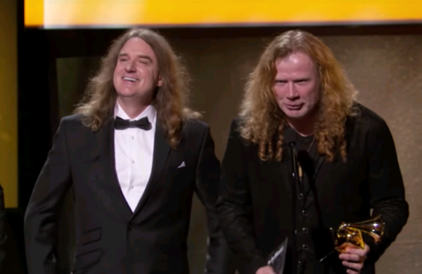 Dave Mustaine comenta gafe do Grammy que tocou Metallica