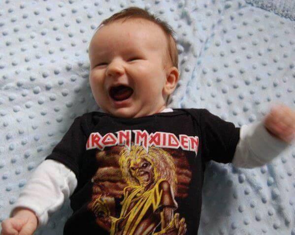 Casal Boliviano dá o nome do filho de Iron Maiden