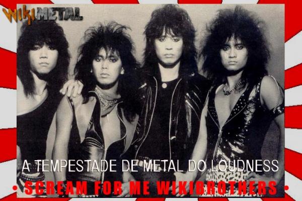 A tempestade de Metal do Loudness