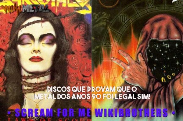 Discos que provam que o Metal dos anos 90 foi legal sim!