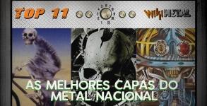 As melhores capas do Metal Nacional
