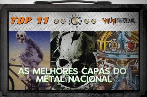 As 11 capas mais bonitas do Metal Nacional