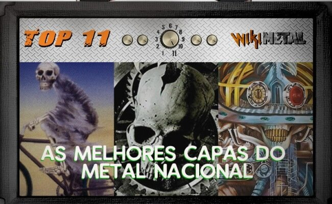 As 11 capas mais bonitas do Metal Nacional