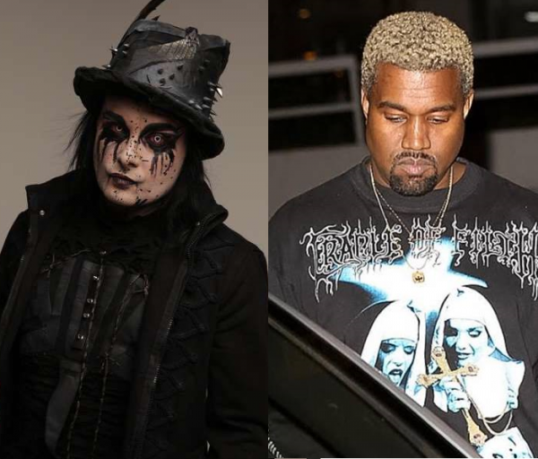 Kanye West usa camiseta do Cradle Of Filth e banda comenta