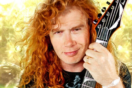 Dave Mustaine corrige tablatura de música do Megadeth em Portal