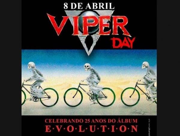 """Viper celebra 25 anos do """"Evolution"""" com show especial no Manifesto Bar"""