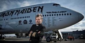 Iron Maiden Bruce Piloto