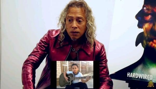 Kirk Hammett reage a covers do Metallica no YouTube