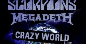 Megadeth e Scorpions Tour