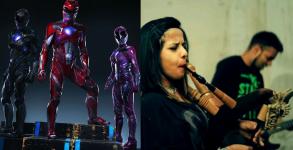 Power Rangers Tema Metal
