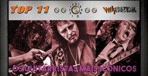 Top 11 Guitarristas iconicos