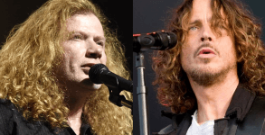 Mustaine e Chris Cornell