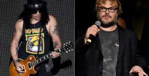 Slash toca com Jack Black