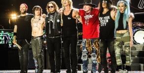 Guns N Roses pronto para novo album