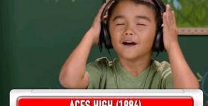Kids React Iron Maiden
