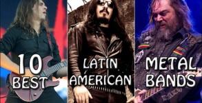 Melhores bandas latino americanas