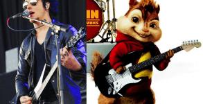 Synyster Gates canta com voz de Alvin