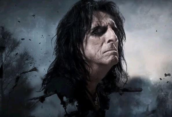 """Alice Cooper revela faixa-título de novo álbum, """"Paranormal"""""""