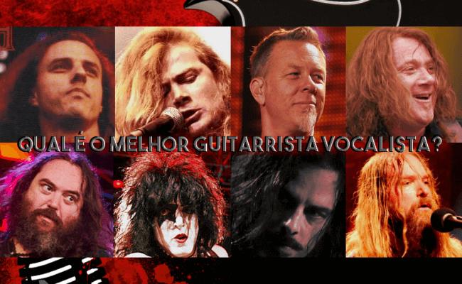 Vote: Qual é o melhor guitarrista vocalista?