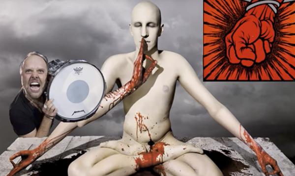 Meshuggah com a bateria do St. Anger