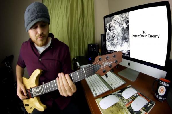 Virtuoso toca todas as músicas do Rage Against The Machine em 3 minutos
