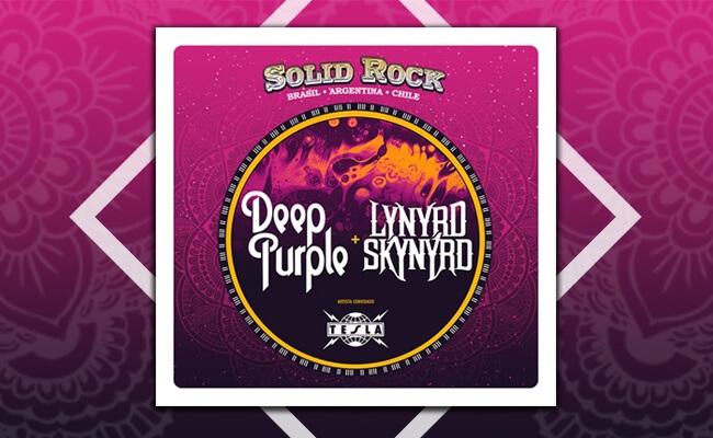 Promoção ingresso para Deep Purple e Lynyrd Skynyrd
