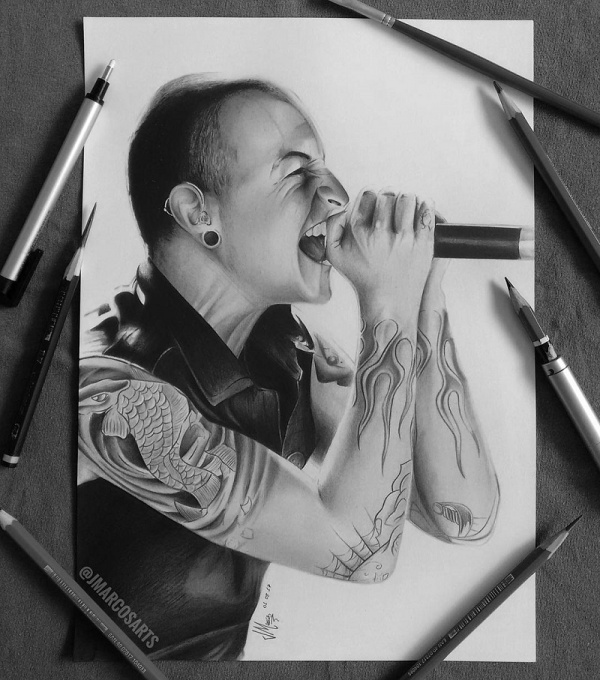 Chester Bennington Fan Art