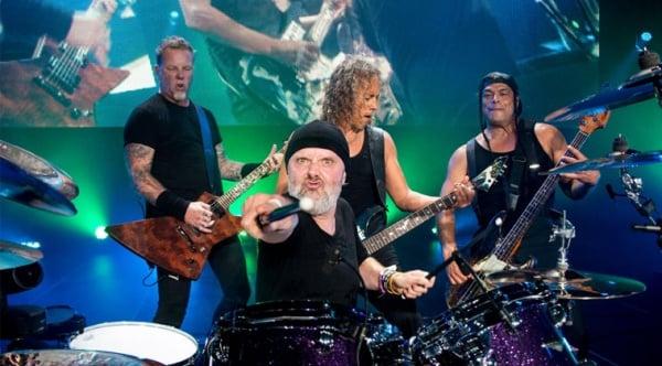 Assista ao último show da tour do Metallica ao vivo