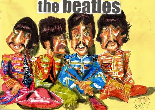 The Beatles Fan Art