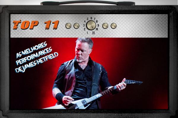 As melhores performances de James Hetfield