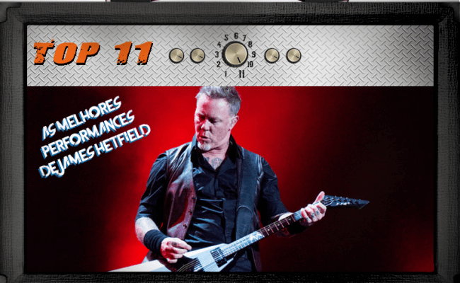 As melhores performances de James Hetfield