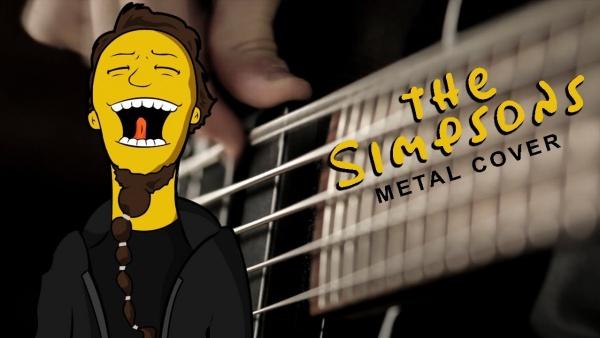 Versão Heavy Metal do tema dos Simpsons