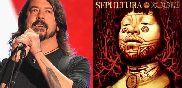 """Dave Grohl fala de Roots do Sepultura: """"O álbum mais poderoso que eu já tinha ouvido"""""""