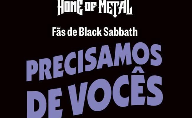 Home Of Metal chega ao Brasil: deixe sua marca na história do Black Sabbath