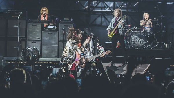 Fotos e setlist do Aerosmith no São Paulo Trip 2017